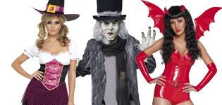 Halloween Kostumer fra Temashop.dk