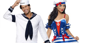 Sailor/smandskostumer