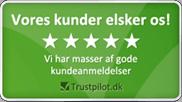 Trustpilot anmeldelser