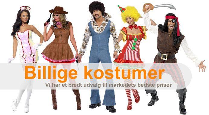 2303ae80d00 Stort udvalg af billige kostumer