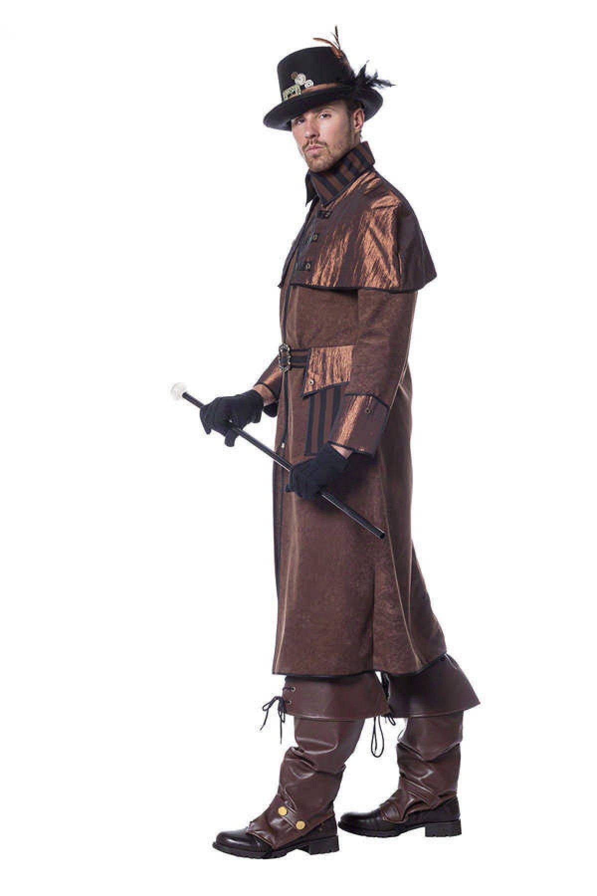 Køb Steampunk frakke, Deluxe til kun 369, på Temashop.dk