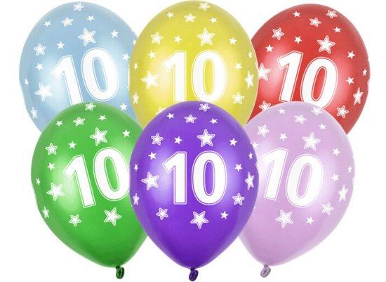 10 aars Balloner Festartikler