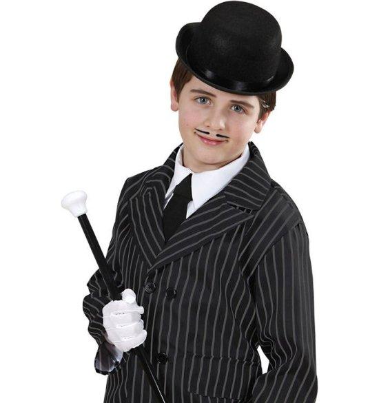 Sej Sort Bowler Hat, Barn Tilbehoer