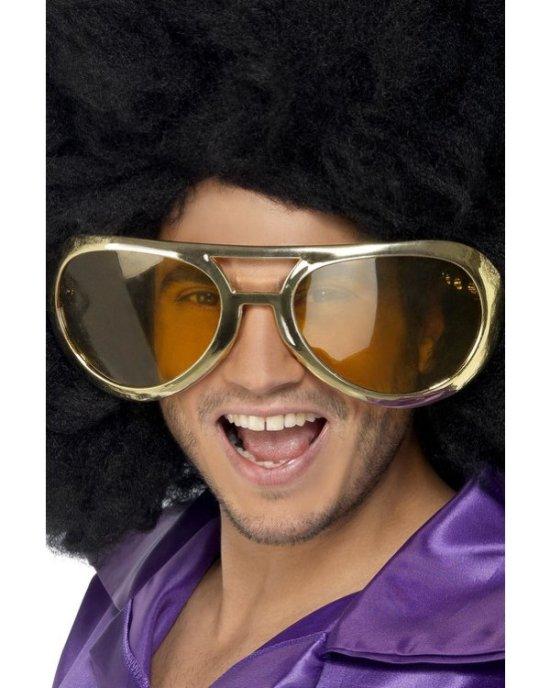 70'er solbrille, guld