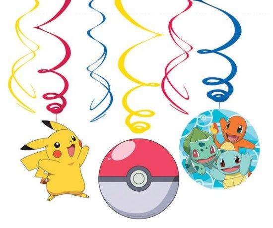 Pokemon Loftdekoration Festartikler