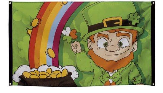 Sankt Patricks Day Banner, 90x150 cm. Festartikler