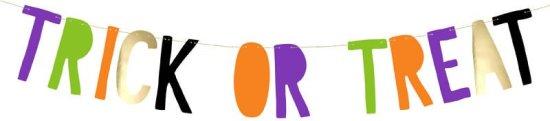 Trick Or Treat Banner Festartikler