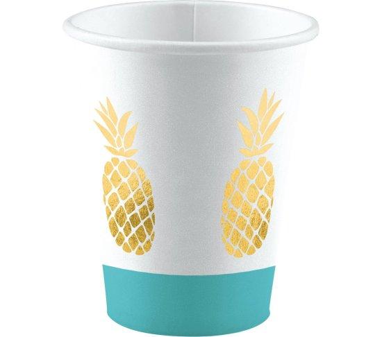 Ananas Tema Kopper Festartikler