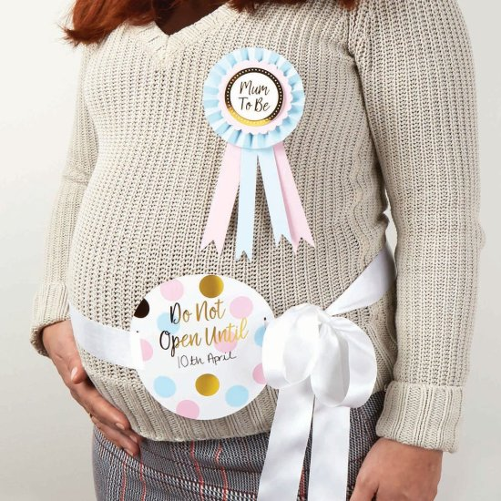 Babyshower Mom-To-Be Saet Festartikler