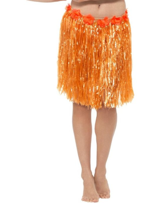 Blomster Hula Skoert, orange Tilbehoer