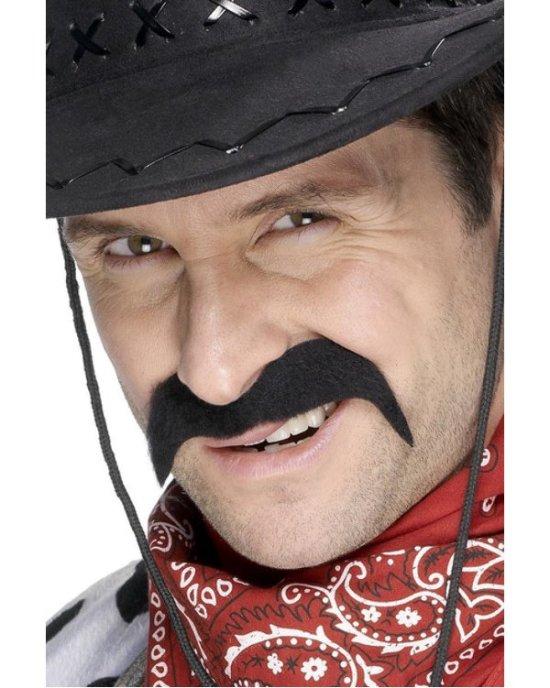 Cowboyoverskaeg, sort Tilbehoer