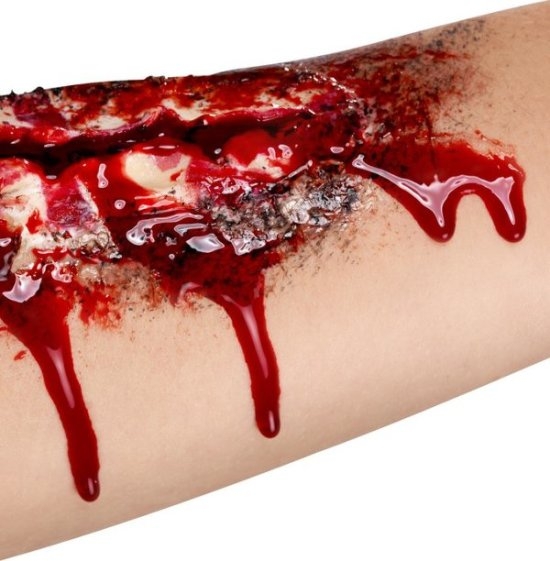 Falsk blod, gel Tilbehoer