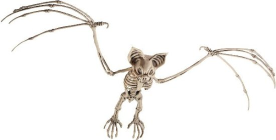 Flagermus Skelet Figur Festartikler