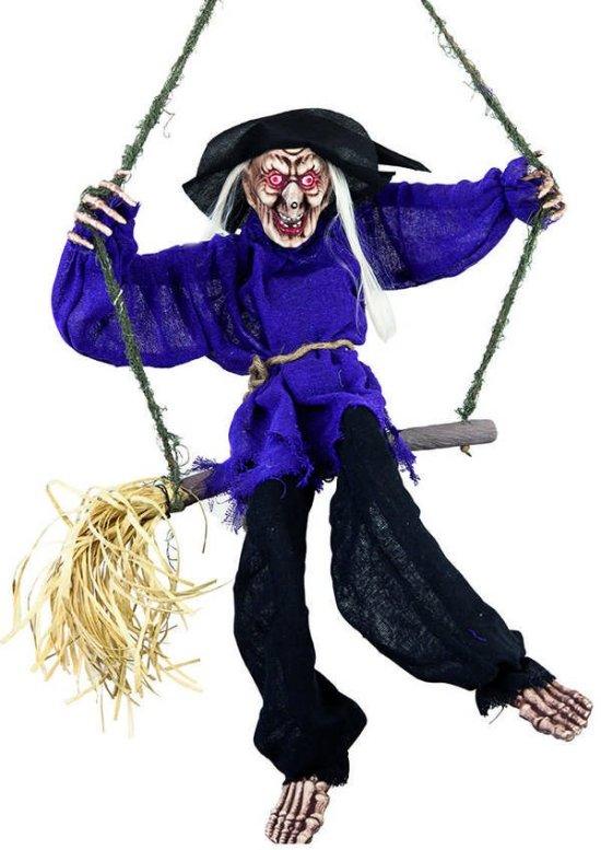 Halloween heks m. effekter Festartikler