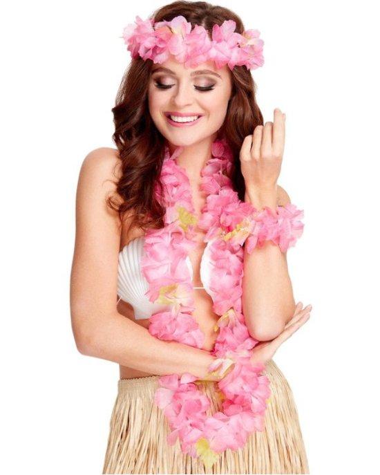 Hawaiisaet, pink Tilbehoer