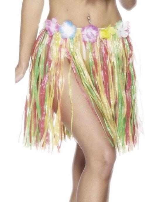 Hawaiiskoert, kort, farverigt Tilbehoer