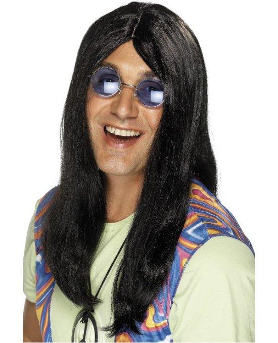 Hippieparyk, lang, sort Tilbehoer