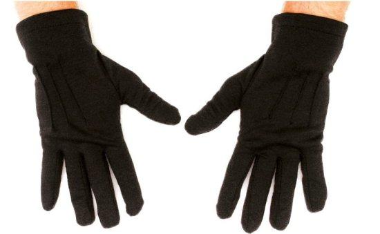 Korte Sorte Handsker, Herrer Tilbehoer
