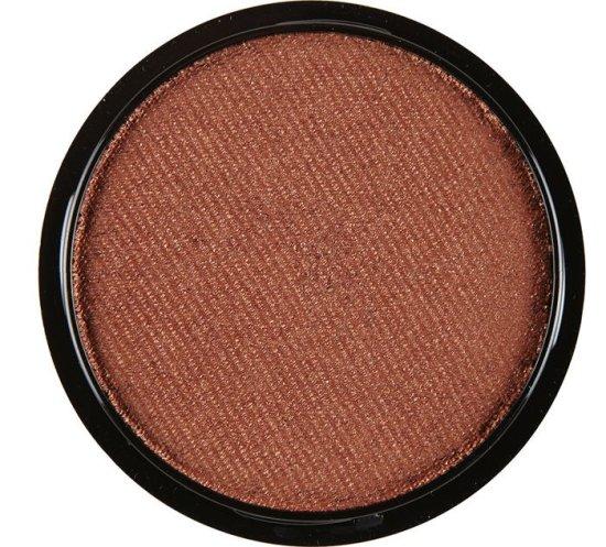 Metallisk brun ansigtsmaling, vandbaseret 15 g Tilbehoer