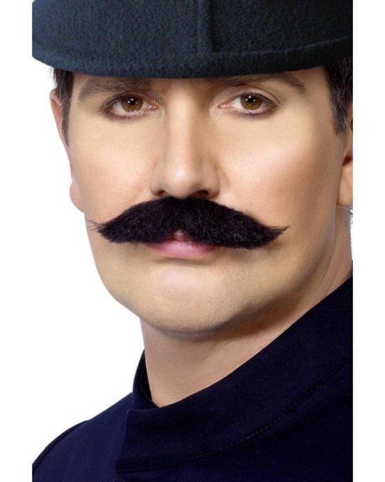 Moustache, sort Tilbehoer
