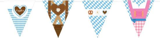 Oktoberfest Vimpelbanner Med Figurer Festartikler