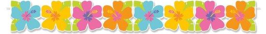 Papir Guirlande, Hibiskus Festartikler