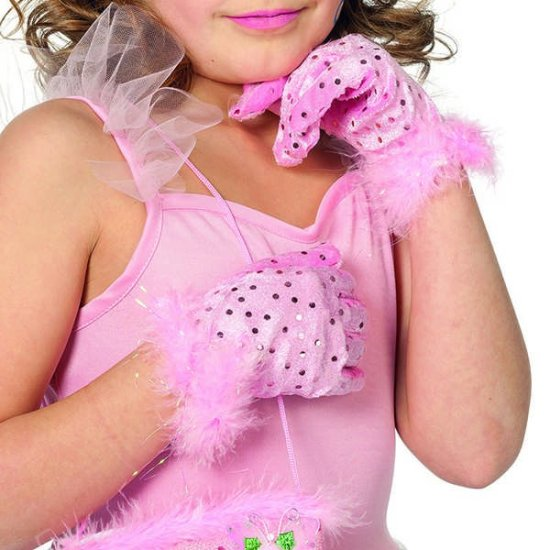 Prinsesse Handsker, Lyseroed Tilbehoer