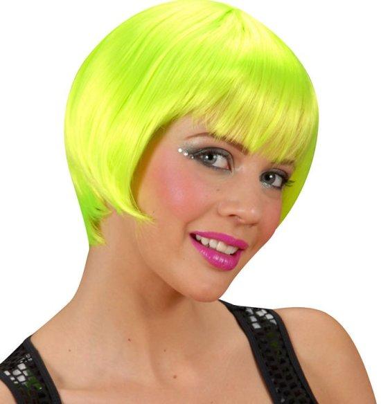Rave Neon Paryk, groen Tilbehoer