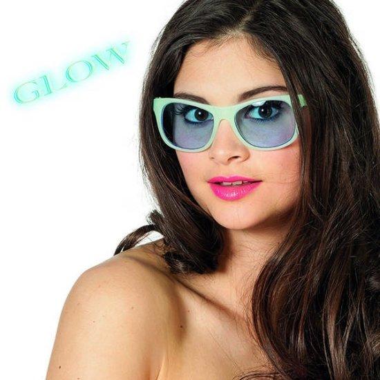 Selvlysende Briller, blaa Tilbehoer