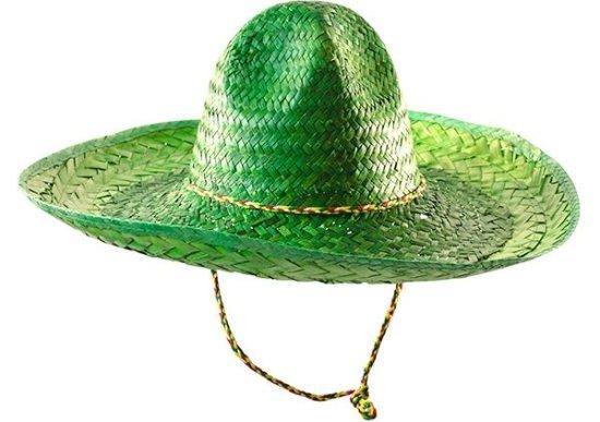 Sombrero hat, Groen Tilbehoer