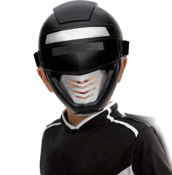 Sort Superhero maske, boern Tilbehoer