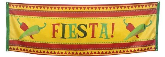 Stort Mexikansk Fiesta Banner Festartikler