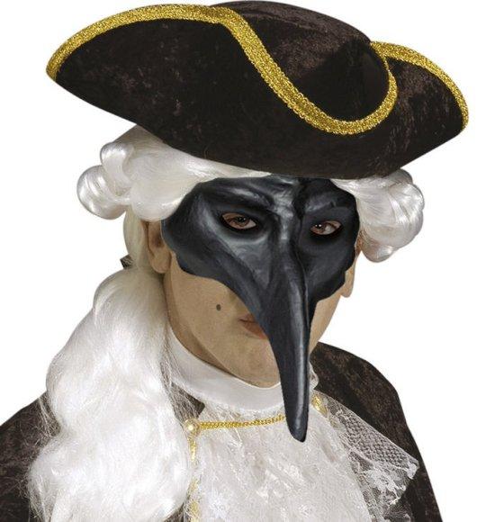 Venetiansk Maske, sort Tilbehoer
