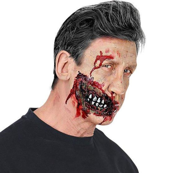 Zombiemund, latex Tilbehoer