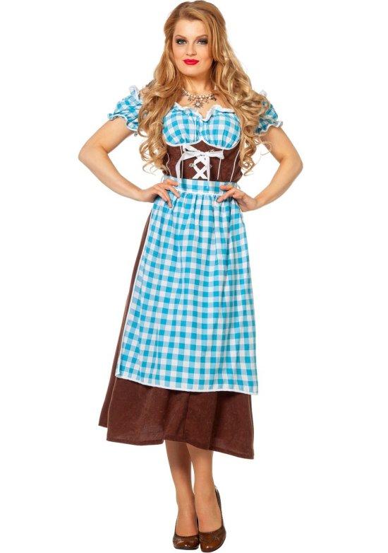 Tyroler Darling, Blaa Kostumer