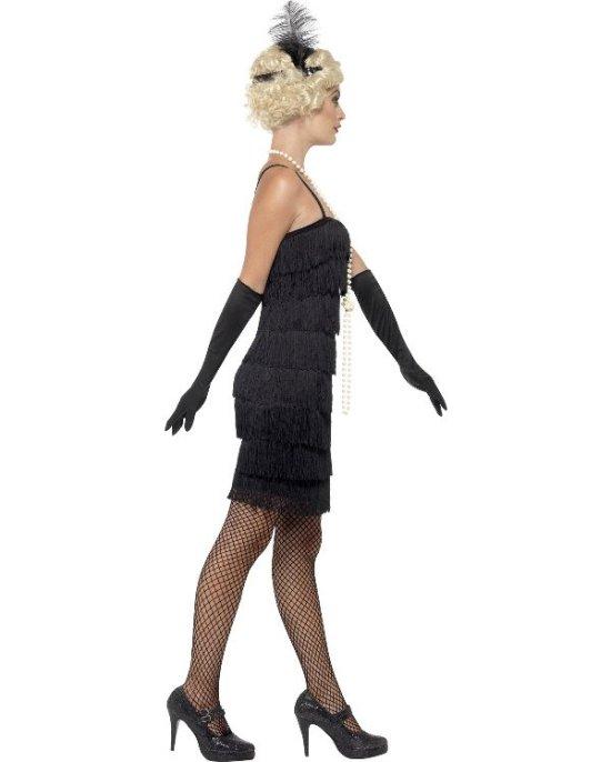 Sort Charlestonkjole, Kort Kostumer