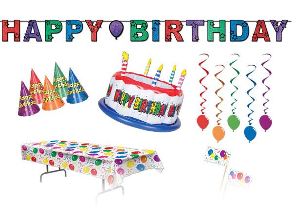 Fødselsdagsdekoration