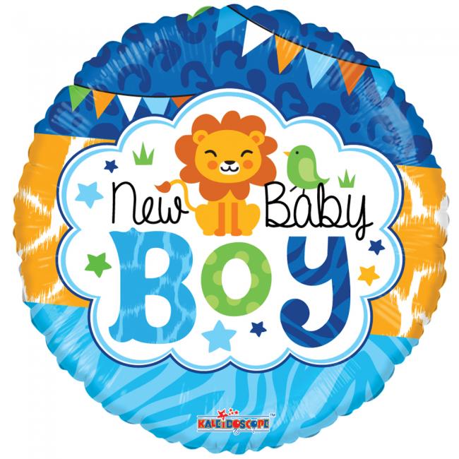 Folieballon rund baby doy fra globos nordic fra temashop.dk