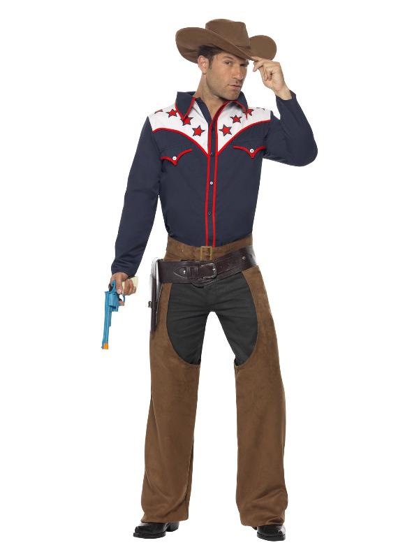 Rodeo cowboy fra smiffys fra temashop.dk