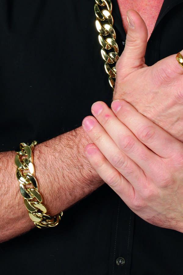 wilbers stort guldarmbånd