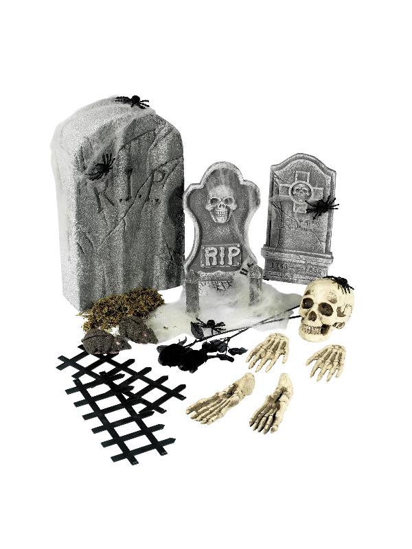 Halloween dekorationssæt
