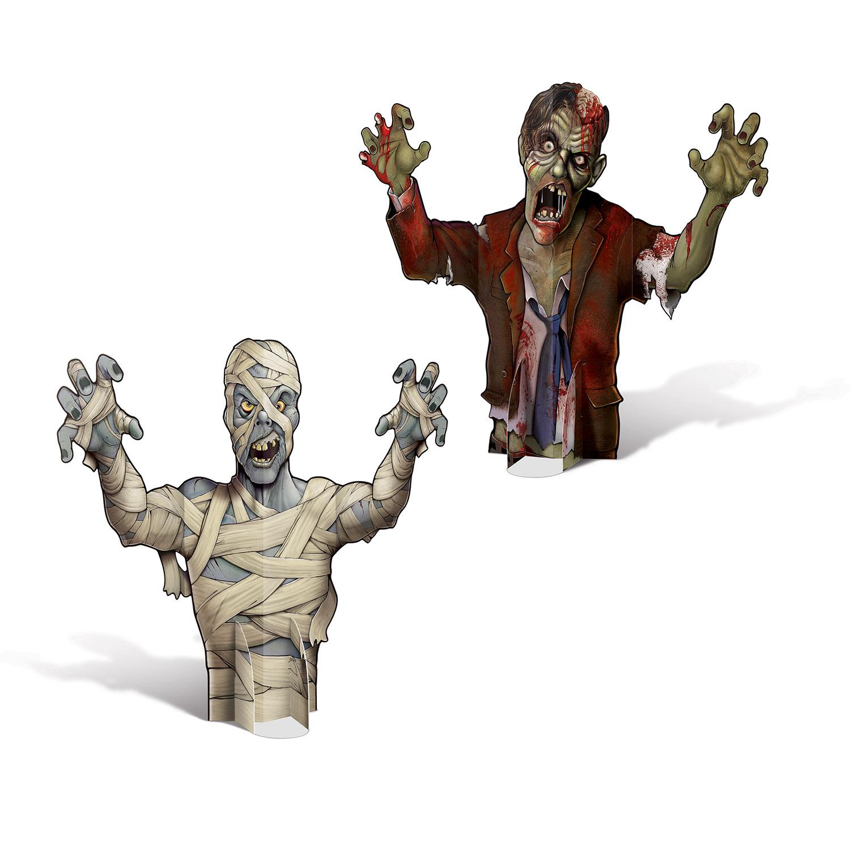3D Mumie/Zombie Borddekoration