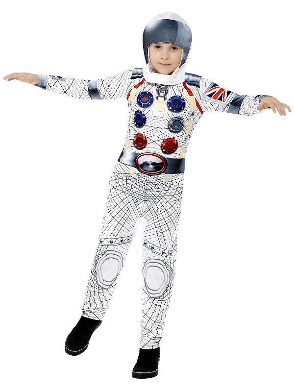 Lille deluxe astronaut fra smiffys fra temashop.dk