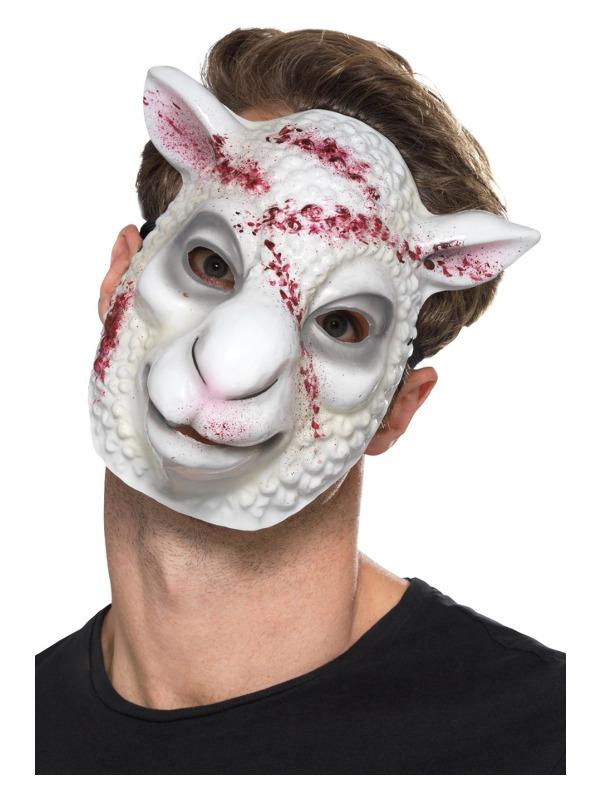 smiffys – Ond dræberfår maske fra temashop.dk