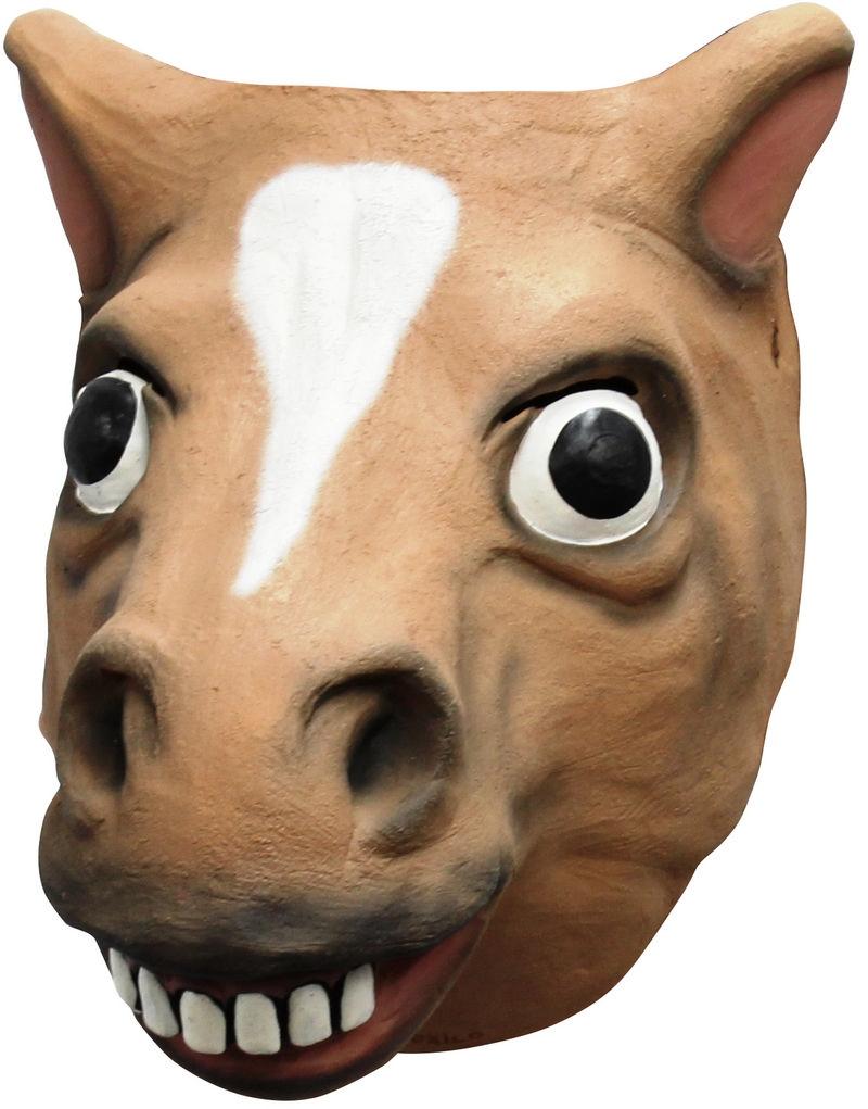 Brown horse fra partychimp fra temashop.dk