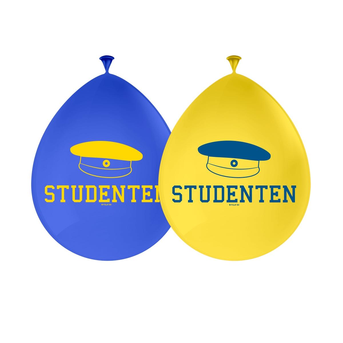 folat Student balloner, svensk på temashop.dk