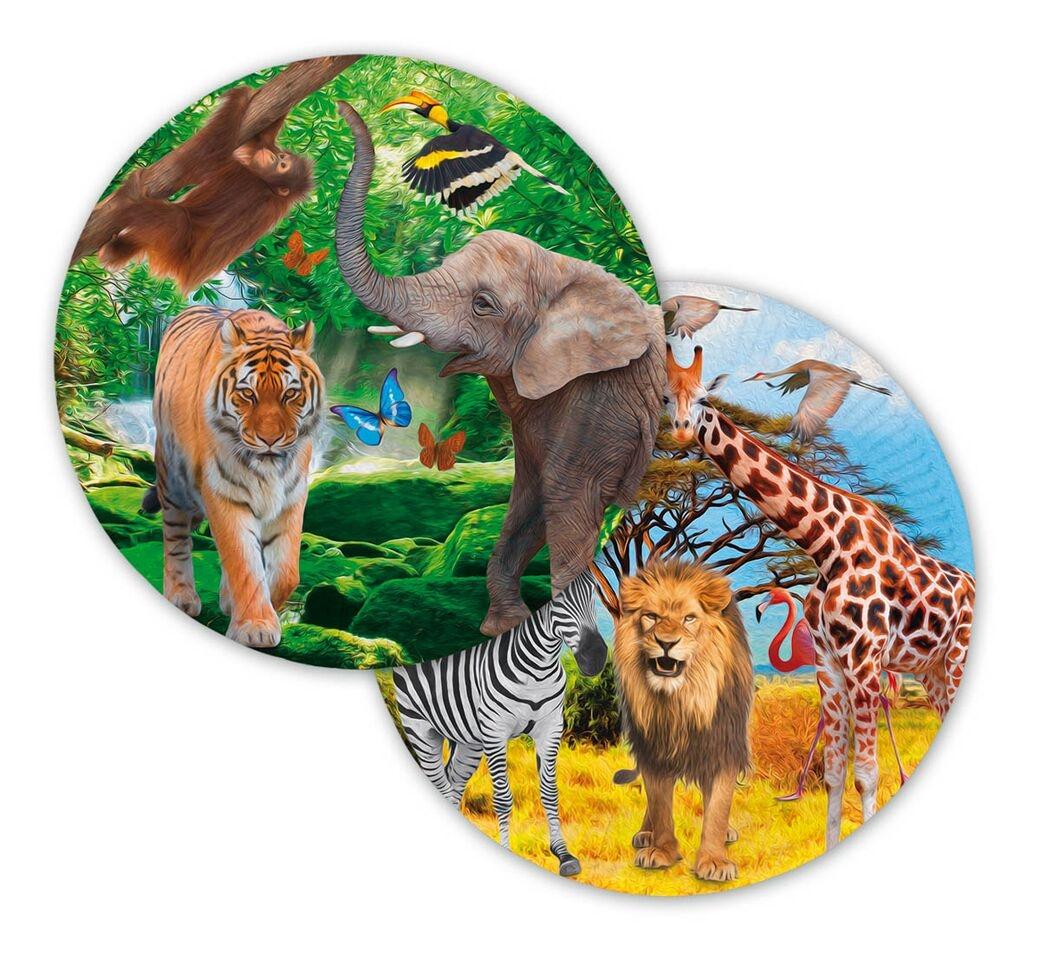 safari tallerkener fra folat