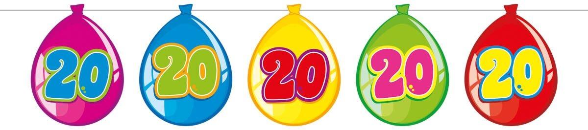 folat Ballon banner, 20 fra temashop.dk