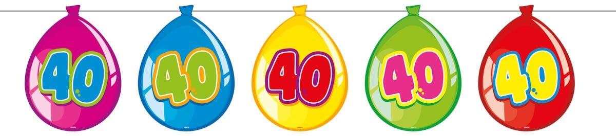 Ballon banner, 40 fra folat fra temashop.dk