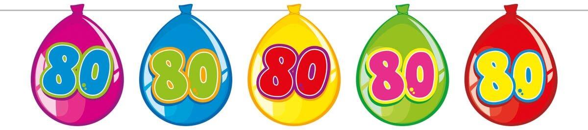 folat Ballon banner, 80 fra temashop.dk